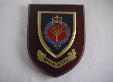 Wall Plaque Regimental Crest